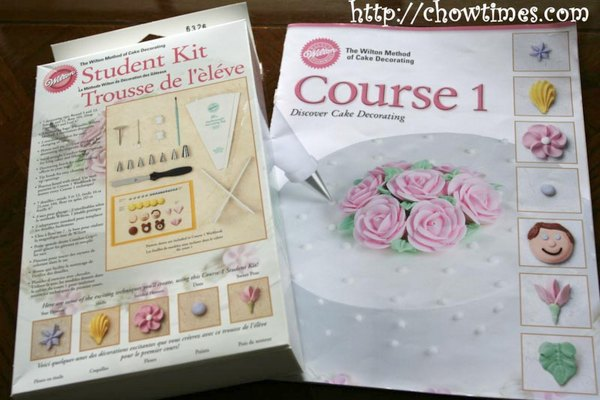 Wilton Cake Decorating Kit Level 1 : Wilton Cake Decorating Level 1