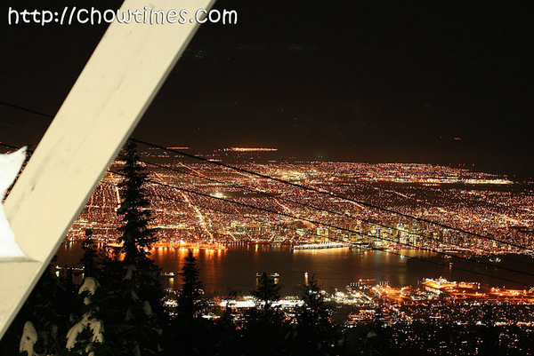 The View From Top Of Grouse Mountain Were Stunning At Night It Was Clear Sky That Which Fortunate Seeing How Much Rain And Snow We Had