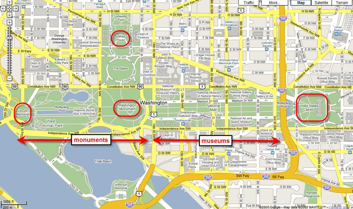 Washington DC: The National Mall