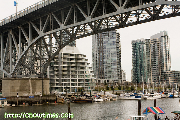 Under the Granville Bridge