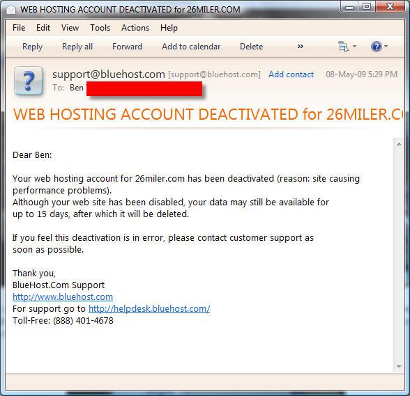 webhostingdeactivated