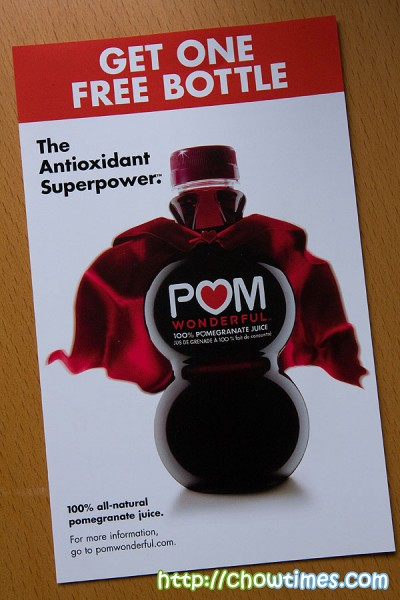 Pom drink coupons