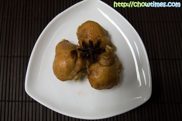this star anise chicken is another very homey chinese chicken