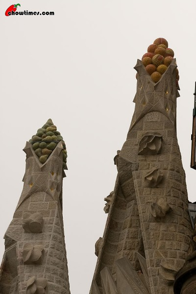 Sculpture of Nature, Fruits from Catalan