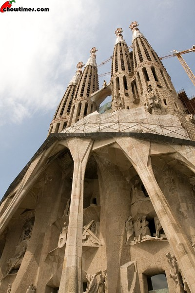 The Passion Facade was completed in the 1980s
