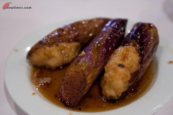 Steamed Eggplant with Black Bean Sauce from Royal Dinner and Dance