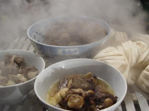 Steam-cooking
