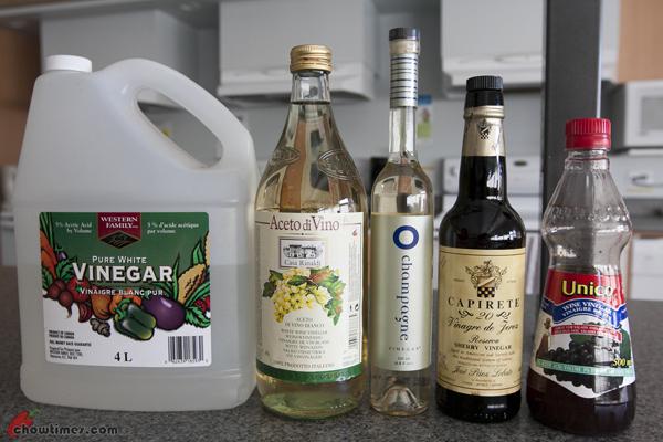 Making Flavoured Vinegar-1