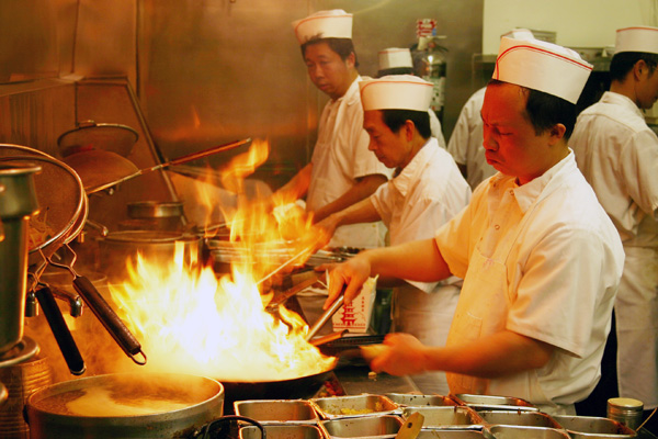 Wok Hei -- a Cantonese concept, cooking in a wok over a high flame while being stirred and tossed quickly.