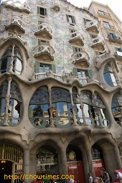 Gaudi and Casa Battlo