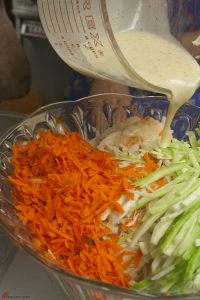 Cole-Slaw-with-Creamy Tangy-Dressing-5