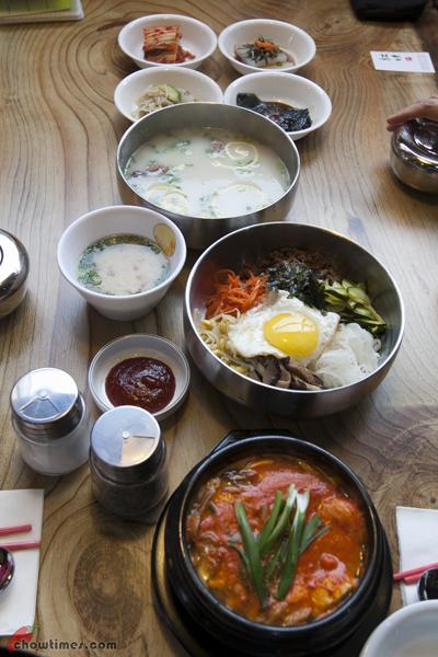 hong mi korean restaurant on no 3 road richmond. Black Bedroom Furniture Sets. Home Design Ideas