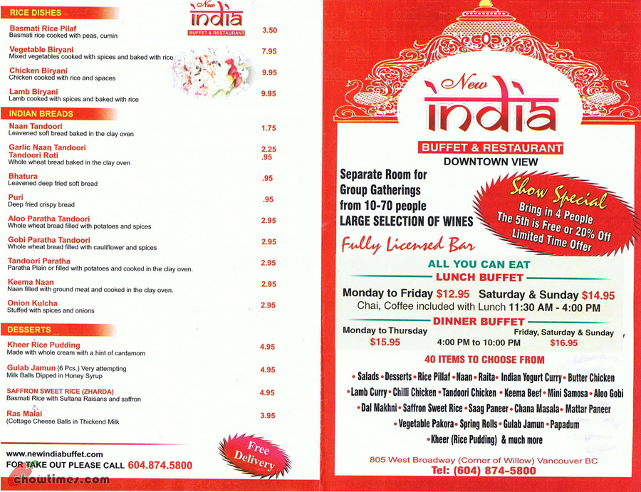 Indian Restaurant West Vancouver