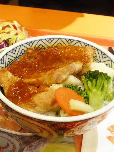 Breakfast-Yoshinoya-Oriental-Mall-3