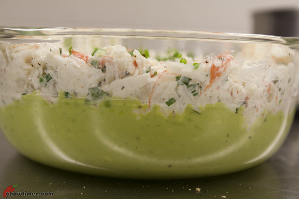 The first dip recipe is a Crab and Avocado Dip. This is great for ...