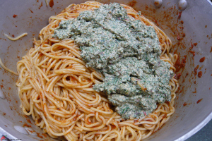 Spaghetti-with-Tomato-Sauce&Swiss-Chard-Pesto-6