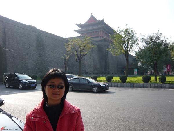 Xian-Day-1-Biking-On-City-Wall-1