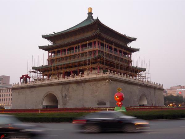 Xian-Day-1-Biking-On-City-Wall-15