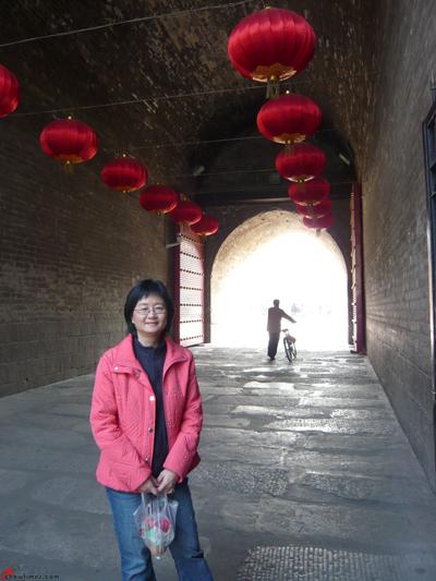 Xian-Day-1-Biking-On-City-Wall-2