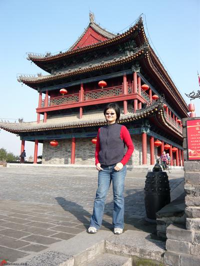 Xian-Day-1-Biking-On-City-Wall-4