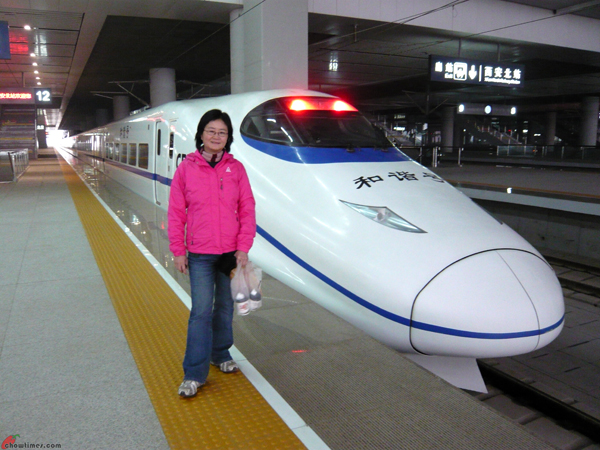 Xian-Day-4-Taking-High-Speed-Train-to-Huashan-3