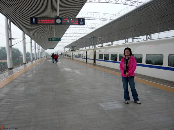 Xian-Day-4-Taking-High-Speed-Train-to-Huashan-9