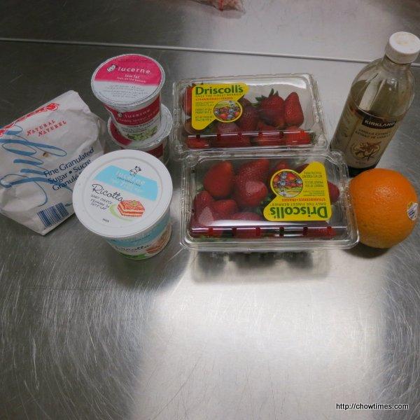 Strawberries with Orange Ricotta Cream 002