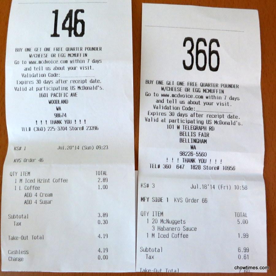 Mcdonalds coupons usa