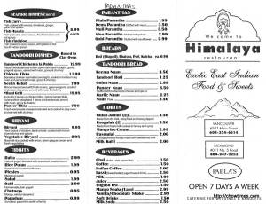 Himalaya Menu (1)