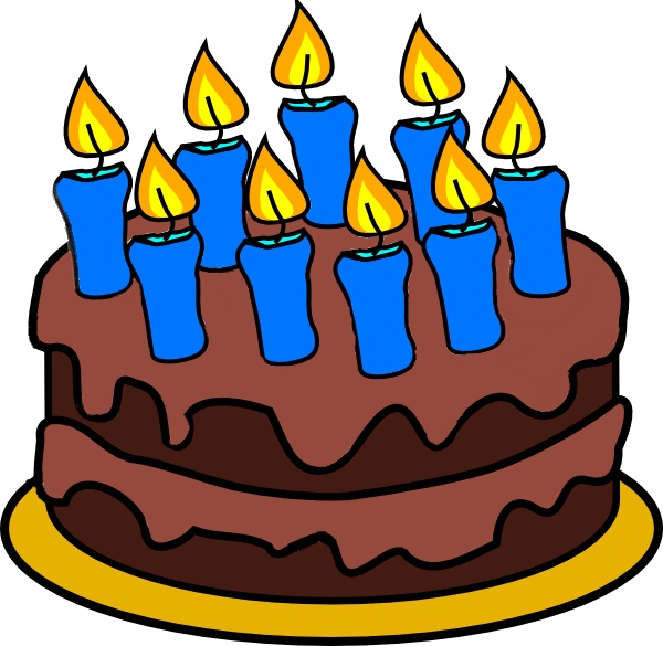 9-candle-cake-free-clip-art