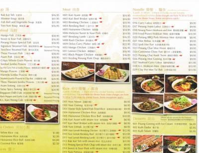 Penang Delights Menu (2)