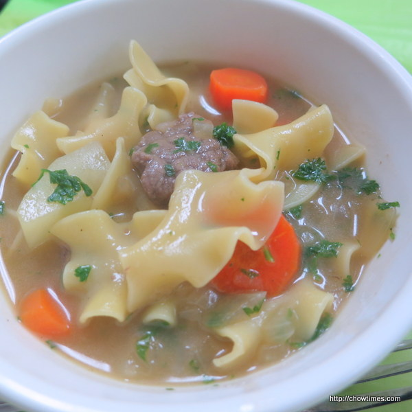 ... is a Beef Stew with Noodles. This is a hearty one pot complete meal