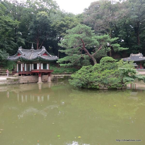 Lotus shape pavillion
